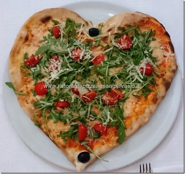 1 Pizza San Valentino