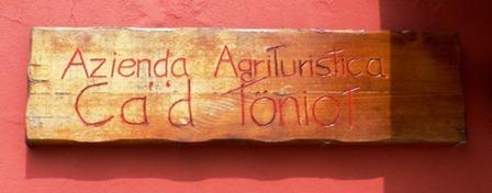 Agriturismo CA'D TONIOTr
