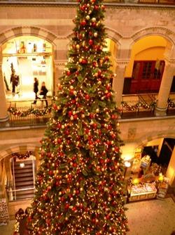 Albero Natale gigante