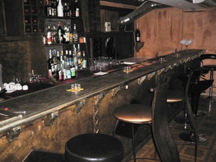 Banco Bar in Ferro battuto 1