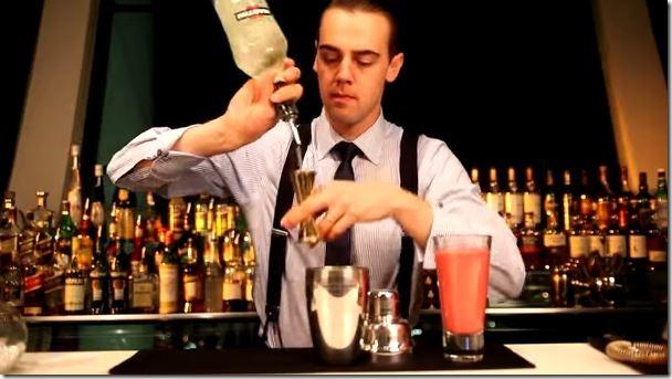 Barman Simone Caporale