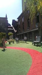 Bergamo, città alta trasformata in giardino2