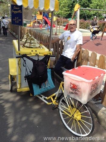Bicicletta vendita  gelati
