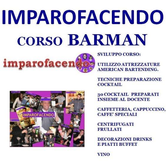 CORSO BARMAN IMPAROFACENDO