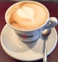 Caffè, Cappuccino durante corso caffetteria