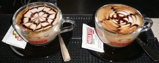 Caffè Decorazioni semplici cappuccino1