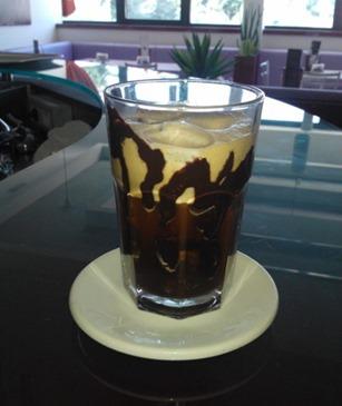 Caffè Frappè con cioccolato