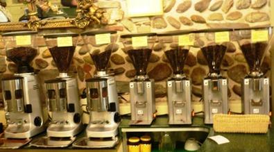 Caffè Macina dosatori caffè unica provenienza