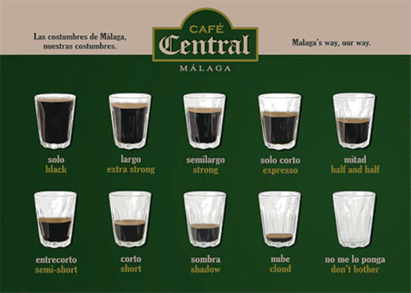 Caffè a Malaga
