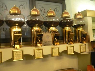 Caffè vendita unica provenienza