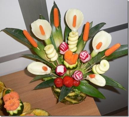 Carving vaso fiori