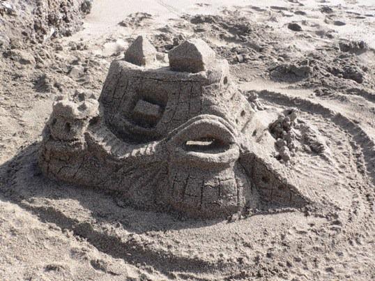 Castello sabbia1