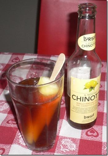 Chinotto e ghiacciolo