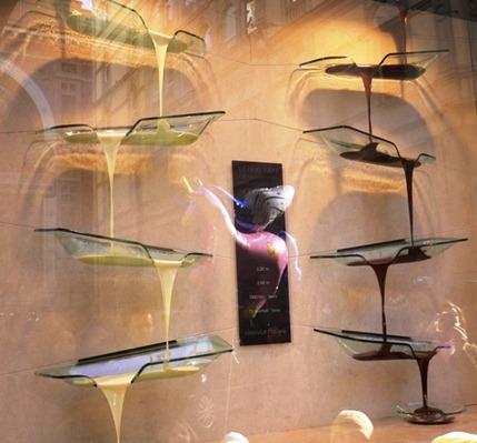 Cioccolata in vetrina