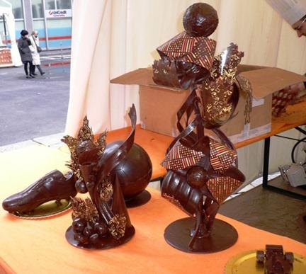 Cioccolato Sculture2
