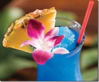 Cocktail Blue Hawaii