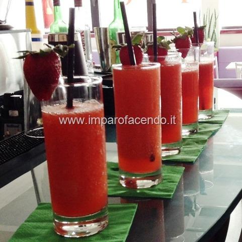 Cocktail Frozen Margarita alla Fragola