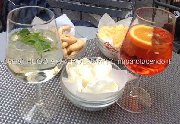 Cocktail Hugo e Aperol Spritz