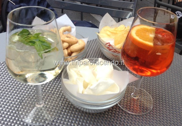 Cocktail Hugo e Aperol Spritz