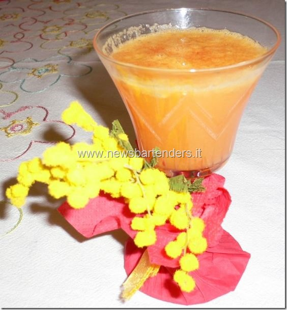 Cocktail Mimosa festa donna