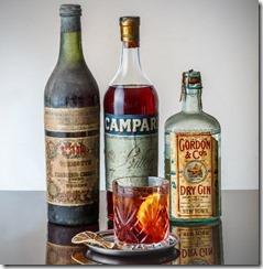 Cocktail Nagroni al Camparino
