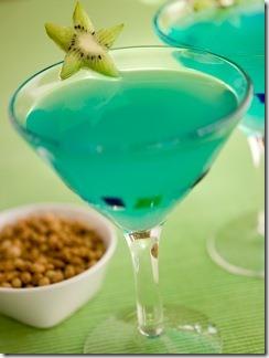 Cocktail Smeraldo in Bowl