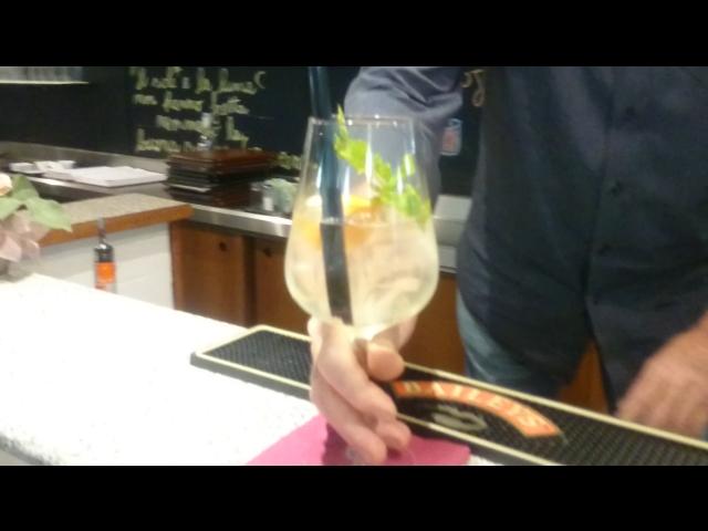 Cocktail Spritz Peach