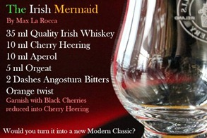 Cocktail The Irish Mermaid