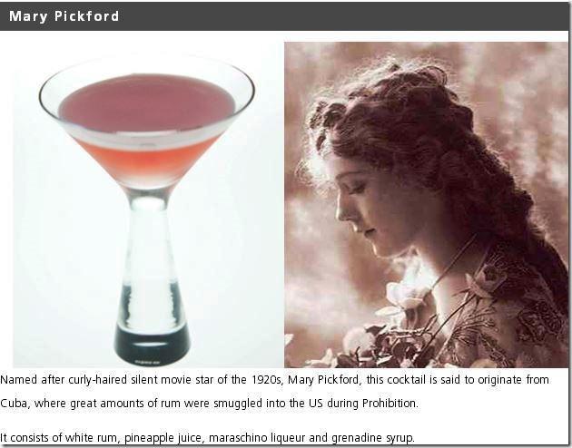 Cocktail famosi durante proibizionismo1