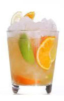 Cocktail Mandarin Caipiroska