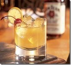 Cocktail Whiskey Jim Beam Sour
