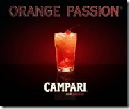 Cocktail campari orange passion