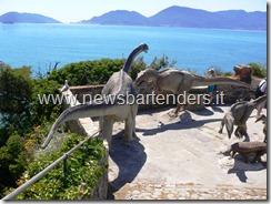 Dinosauri a Lerici Liguria 1