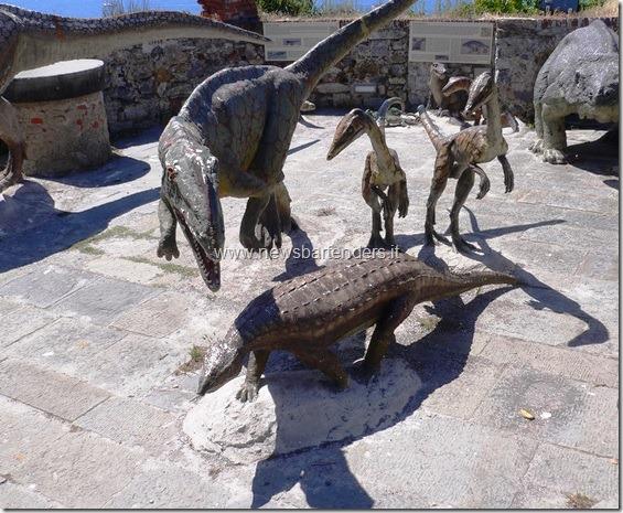 Dinosauri a Lerici Liguria 2
