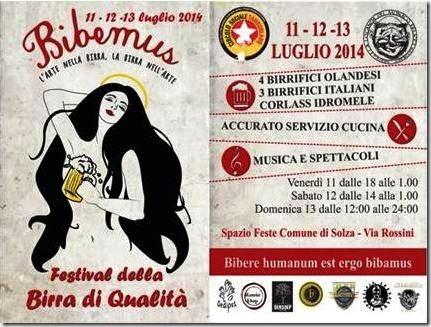 Eventi Festa Birra Solza