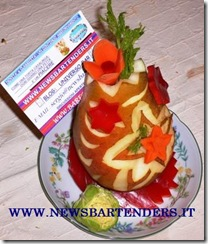 Fruit Carving Segnaposto 4