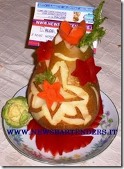 Fruit Carving Segnaposto 5