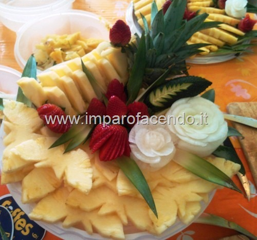 Fruit Carvin Piatto Ananas