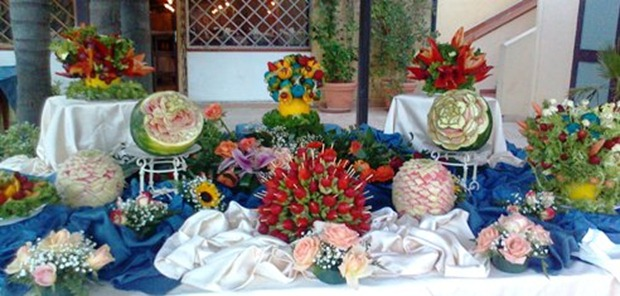 Fruit Carving 17
