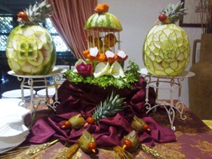 Fruit Carving 1