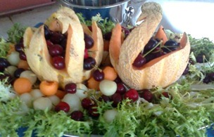 Fruit Carving 6