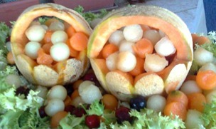 Fruit Carving 7