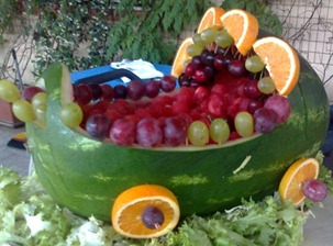 Fruit Carving 8