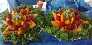 Fruit Carving 9