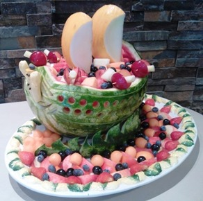 Fruit Carving Barca1