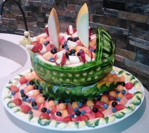 Fruit Carving Barca2