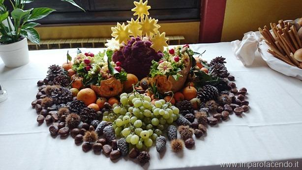 Centro tavola buffet - Centro tavola con frutta ...