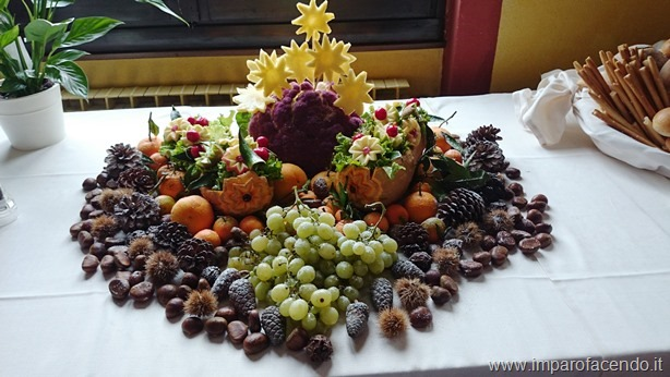 Fruit Carving Buffet centro tavola