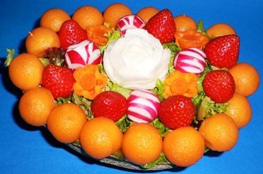 Fruit Carving Cestino 1