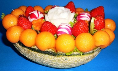 Fruit Carving Cestino 2